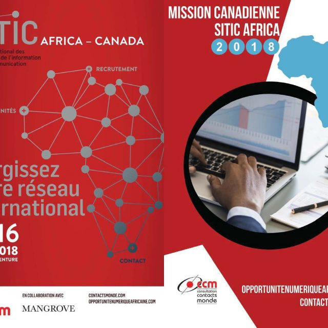 Consulter la Brochure de la mission canadienne – SITIC Africa 2018